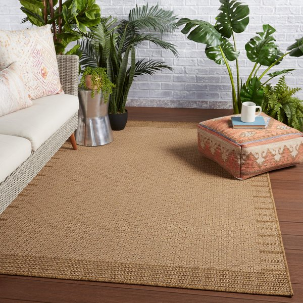 Beige, Light Brown (TAH-08) Contemporary / Modern Area-Rugs