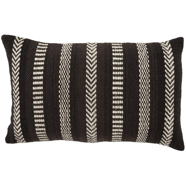 Black, Ivory (PMP-04) Southwestern Pillow