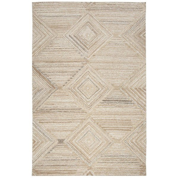 Tan, Natural Contemporary / Modern Area-Rugs