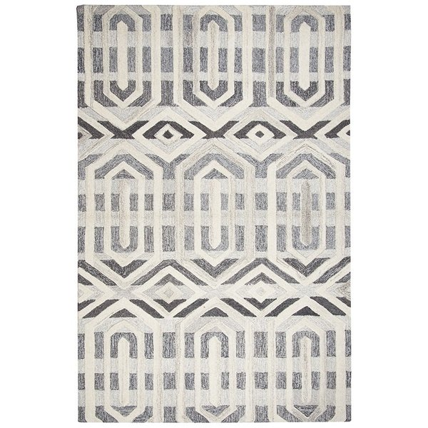 Gray, Natural Contemporary / Modern Area-Rugs
