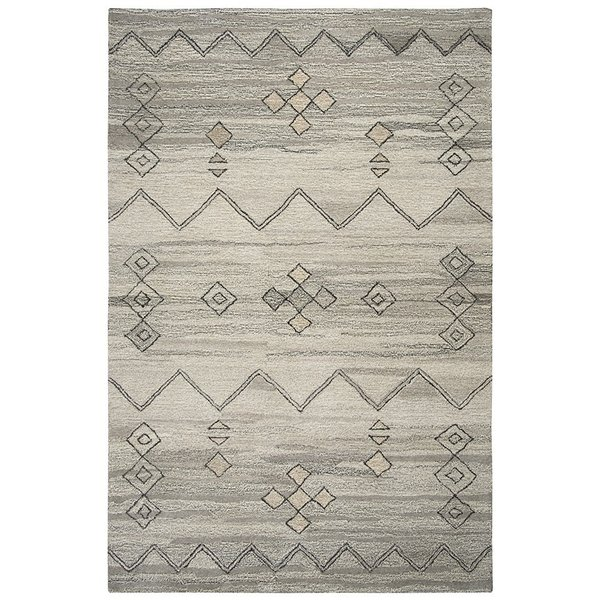 Gray, Natural Moroccan Area-Rugs