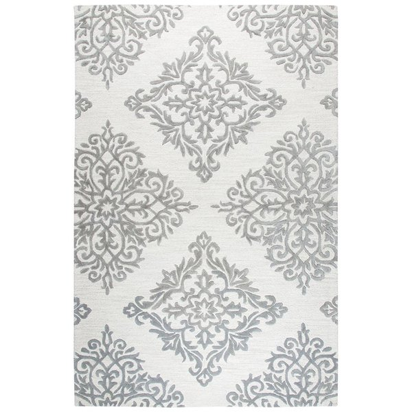 Natural, Taupe (A) Contemporary / Modern Area Rug