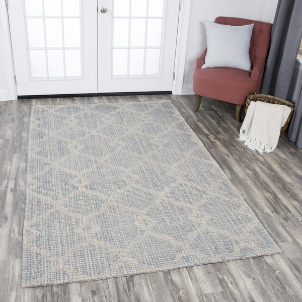 Natural (A) Contemporary / Modern Area Rug