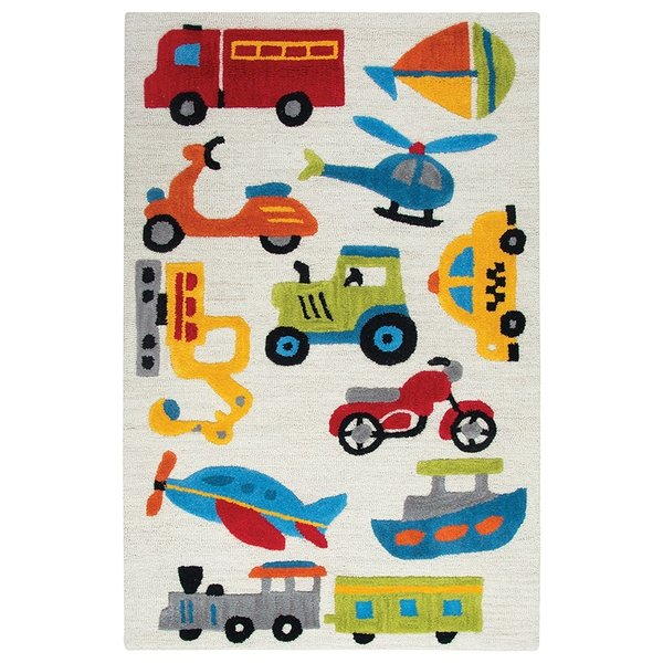 Ivory (PD-579A) Children's / Kids Area Rug