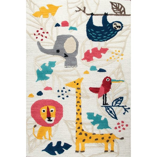 Ivory (PD-581A) Children's / Kids Area Rug