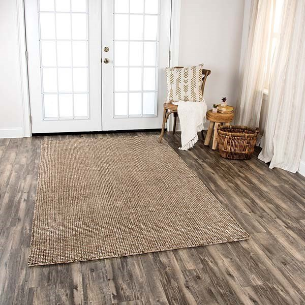 Brown, Beige (TAL-105) Contemporary / Modern Area Rug