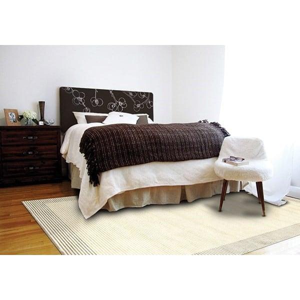 Cream, Gray Contemporary / Modern Area Rug