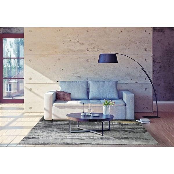 Asphalt Contemporary / Modern Area Rug