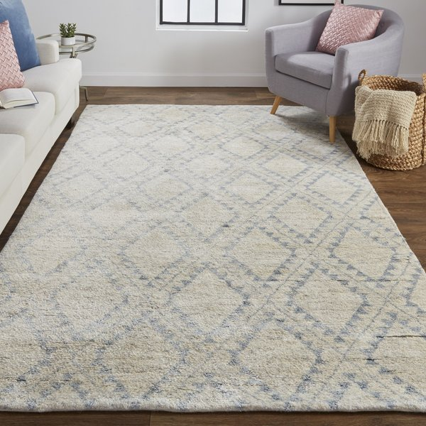 Ice Moroccan Area-Rugs