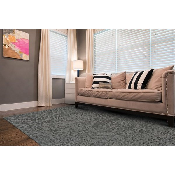 Storm Solid Area Rug