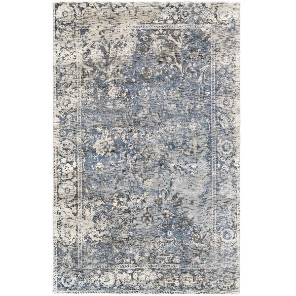 Grey, Blue Vintage / Overdyed Area-Rugs