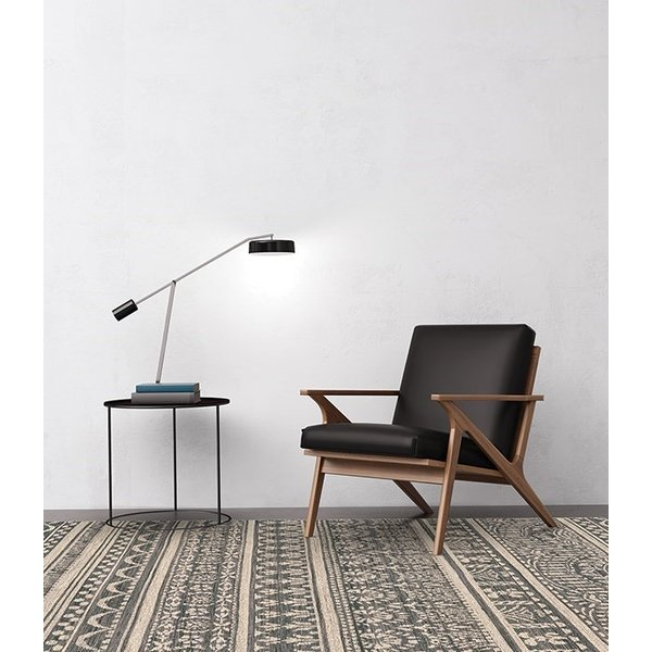 Charcoal, Beige Contemporary / Modern Area-Rugs