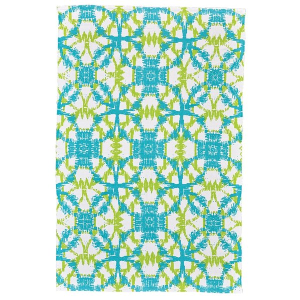 Key Lime Contemporary / Modern Area Rug