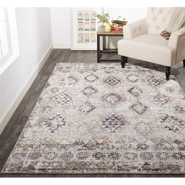 Grey, Sand Vintage / Overdyed Area-Rugs