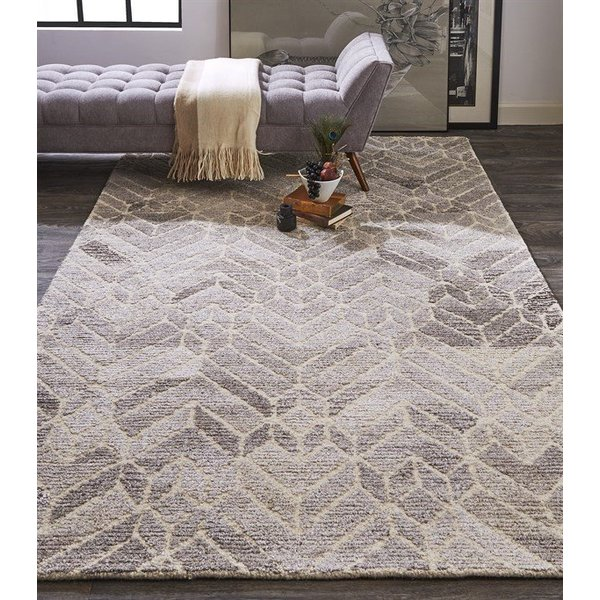 Grey, Natural Contemporary / Modern Area-Rugs