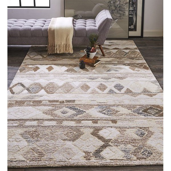 Brown, Natural Moroccan Area-Rugs