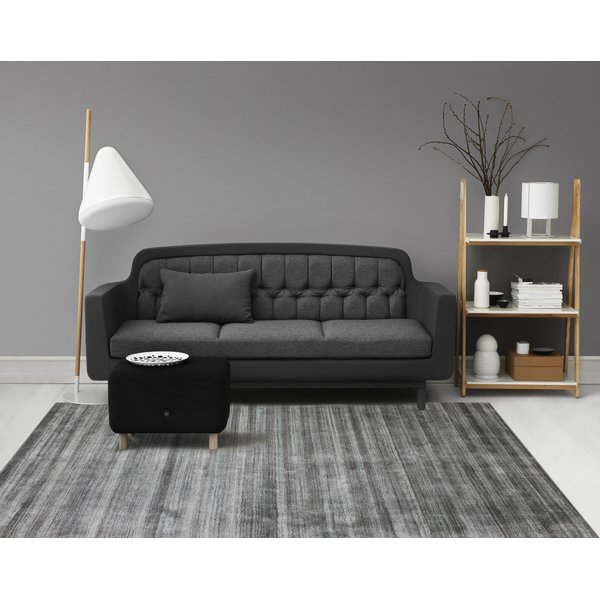 Silver Gray (RAF-5) Contemporary / Modern Area Rug