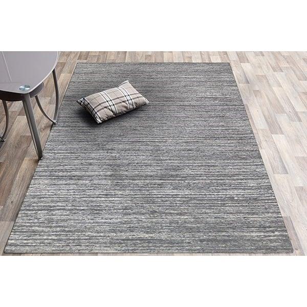 Silver (HEA-1) Contemporary / Modern Area Rug