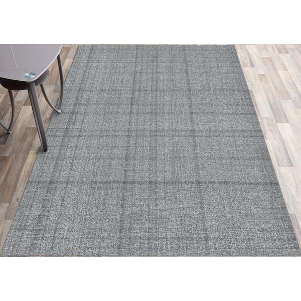 Gray (LAU-3) Contemporary / Modern Area Rug