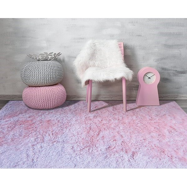 Pink (ODY-02) Shag Area Rug