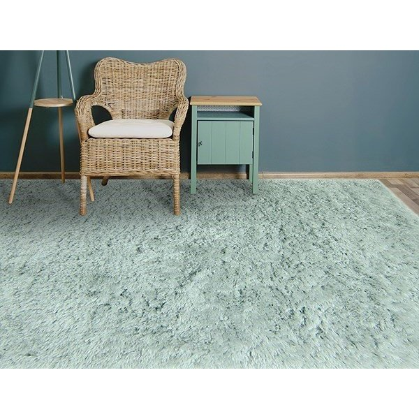 Green (ODY-08) Shag Area Rug