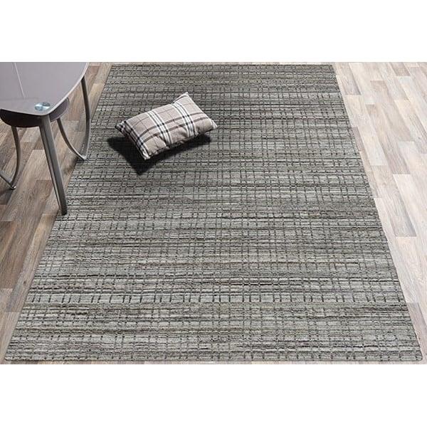 Beige, Grey (PRD-04) Contemporary / Modern Area-Rugs