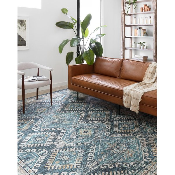 Denim, Natural Traditional / Oriental Area-Rugs