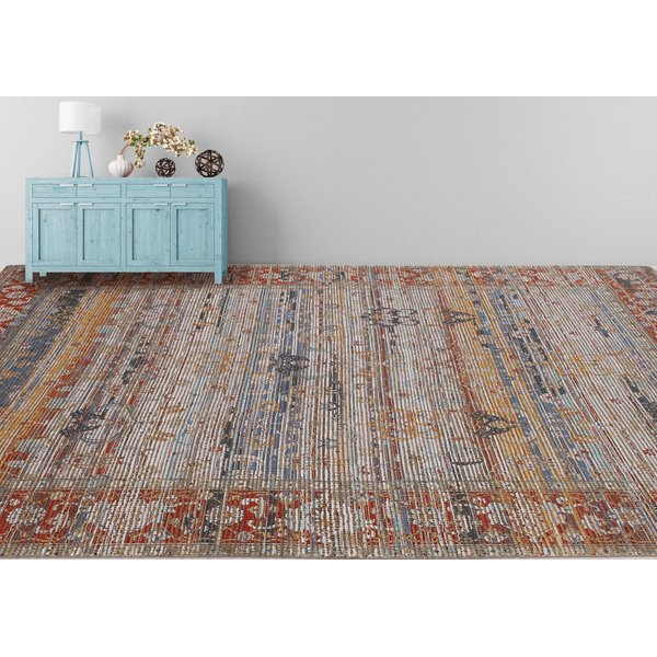 Blue, Rust (PRE-04) Vintage / Overdyed Area-Rugs