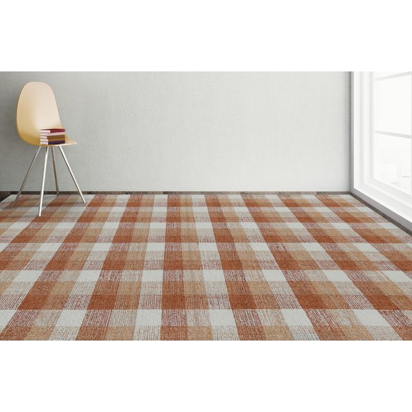 Orange (TRA-10) Country Area-Rugs