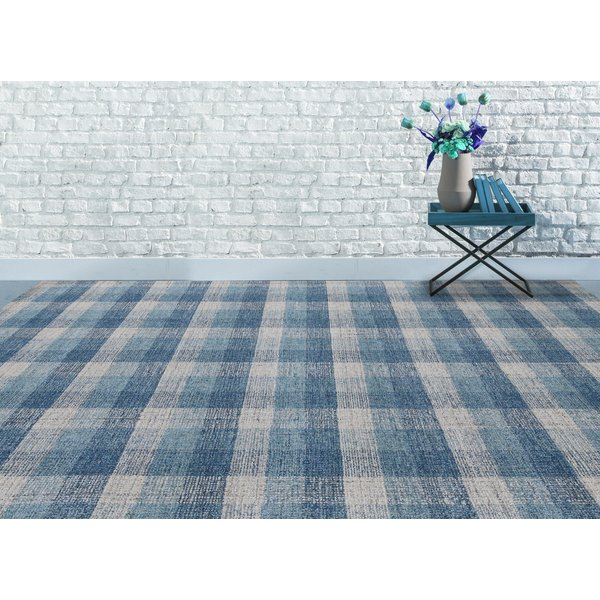 Blue (TRA-11) Country Area-Rugs