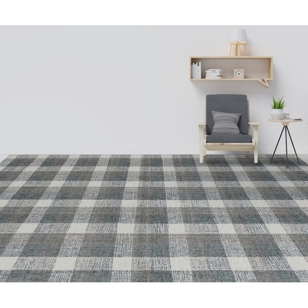 Dark Grey (TRA-08) Country Area-Rugs