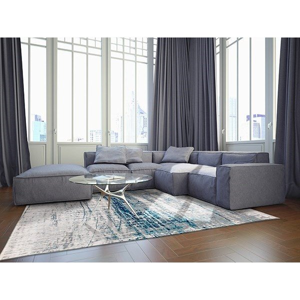 Bronx Azurite (8421) Contemporary / Modern Area Rug