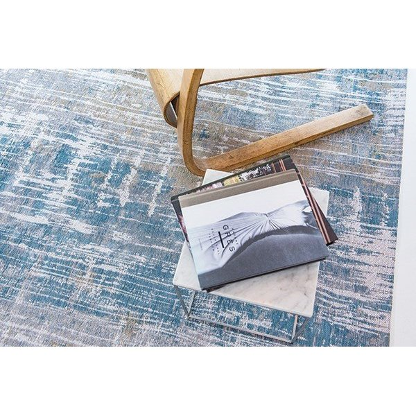 Long Island Blue (8718) Abstract Area-Rugs