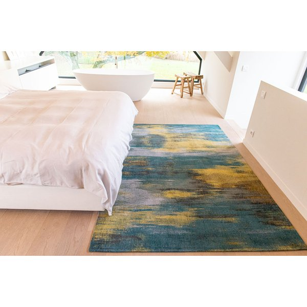 Nymphea Blue (9119) Contemporary / Modern Area Rug