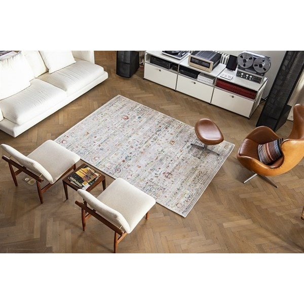 White, Red, Blue (8894) Vintage / Overdyed Area-Rugs