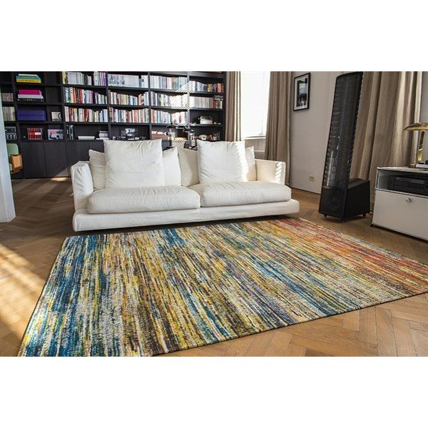 Red, Yellow, Blue (8871) Contemporary / Modern Area Rug