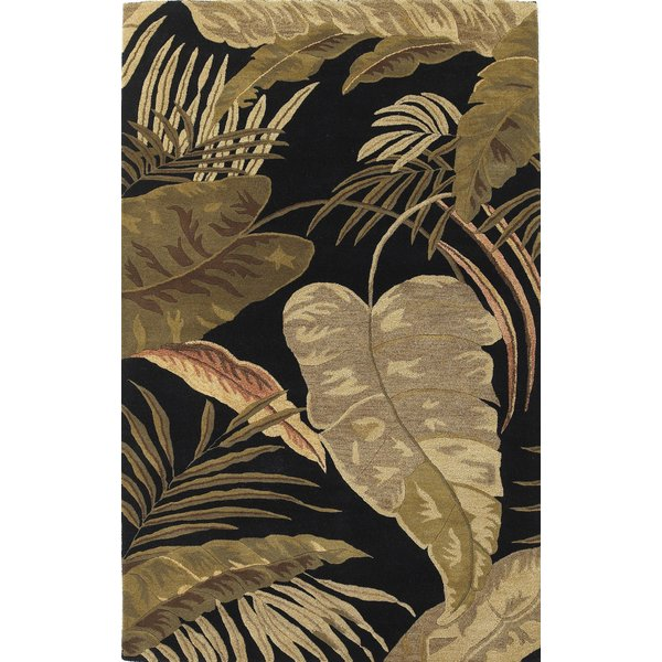 Midnight (2616) Floral / Botanical Area-Rugs