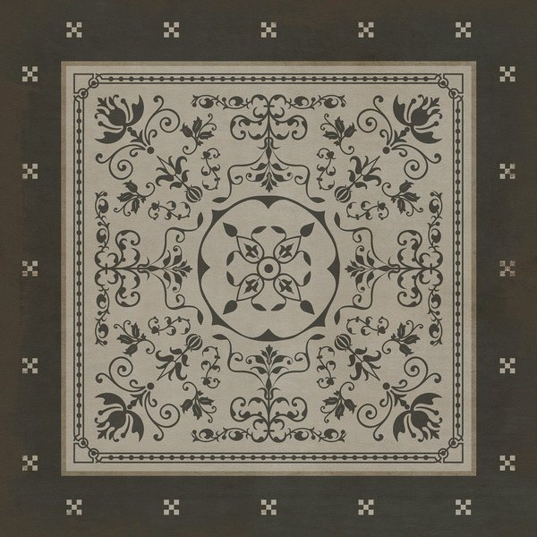 Distressed Black Contemporary / Modern Area Rug