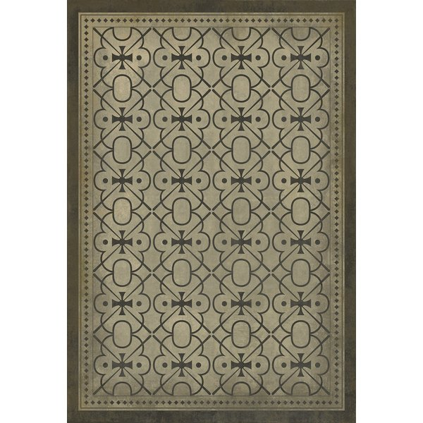 Beige, Brown Contemporary / Modern Area Rug