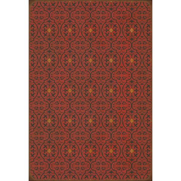 Red, Orange Contemporary / Modern Area Rug
