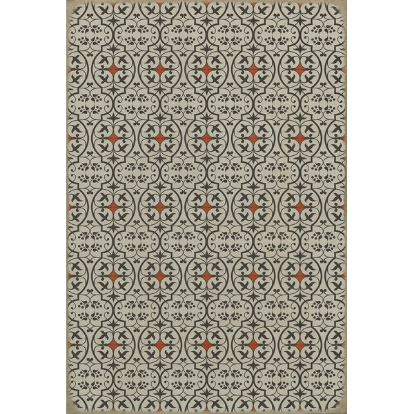 Black, Red Contemporary / Modern Area Rug