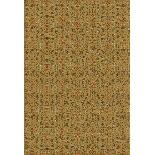Yellow, Green, Red - Bagatelles Floral / Botanical Area-Rugs
