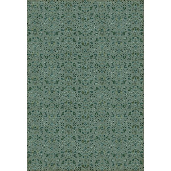 Blue, Green - Useful Knowledge Floral / Botanical Area-Rugs