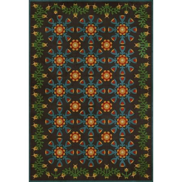 Blue, Green - Ellens Embellishments Floral / Botanical Area-Rugs