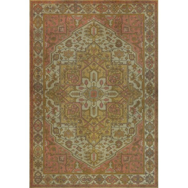 Pink, Gold, Cream - Blanchefleur Traditional / Oriental Area-Rugs