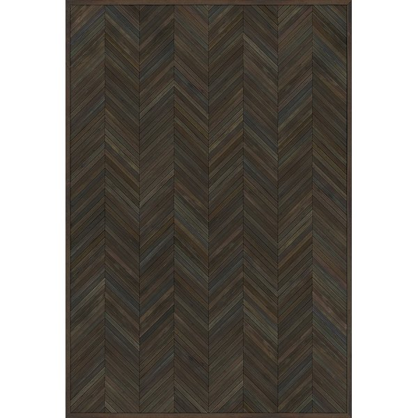 Brown (American Statesmen) Contemporary / Modern Area Rug