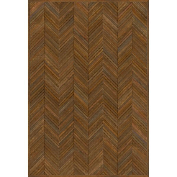 Brown (The Intellectual Life) Contemporary / Modern Area Rug