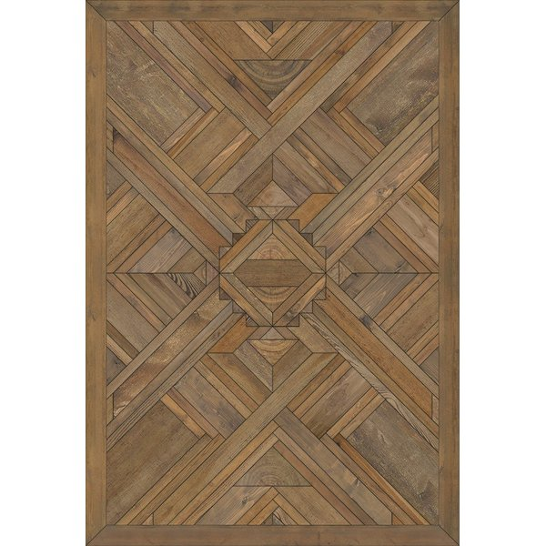 Brown (A Brighter World) Contemporary / Modern Area Rug