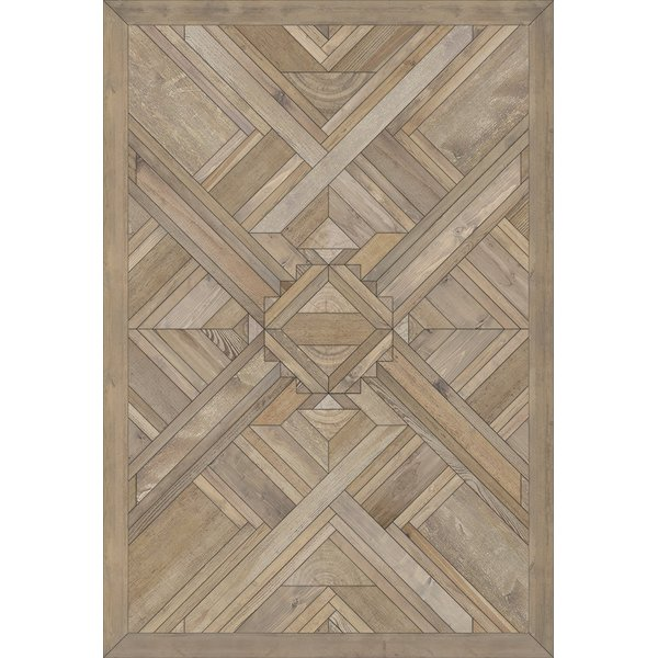 Natural Wood (Sunshine Dreaming) Contemporary / Modern Area Rug