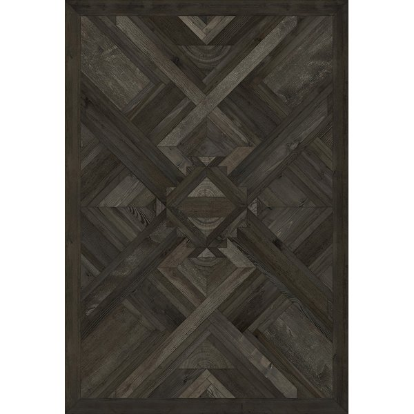 Black (Yield to the Elements) Contemporary / Modern Area Rug